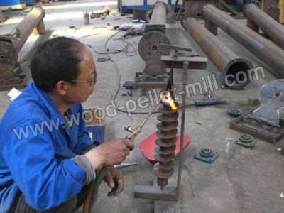 briquette press screw